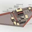 Plánek domu ve kterém údajně žil a kde byl 1. května 2011 zavražděn v městě Abbottabad v Pákistánu Usáma bin Ládin. Ilustrace byla zveřejněna vládou USA.